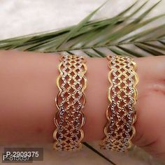 American Diamond Fancy Bangles For Woman by Sourgrape's Online - Online shopping for Bangles & Bracelets on MyShopPrime - Antique Jewellery Designs, Fancy Jewellery, Gold Bangles Design, Gold Jewellery Design, Gold Jewelry, Tikka Jewelry, India Jewelry, Unique Jewelry, Gold Plated Bangles