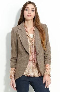 Gibson+Tweed+Riding+Jacket+available+at+#Nordstrom
