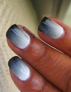 Gradient nails tutorial im attempting this tonight...
