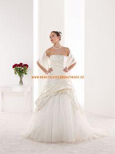 2014 Elegante Brautkleider aus Taft und Organza
