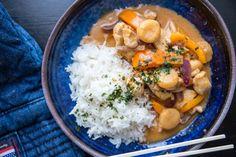 enkel röd currygryta Fika, Chana Masala, Curry, Food Porn, Ethnic Recipes, Red Peppers, Curries, Treats