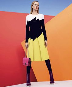 """""""The Best And The Brightest"""" Daria Strokous By Nathaniel Goldberg For Harper's Bazaar September 2014"""
