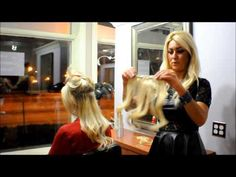 How to Properly Put in your Clip-in Extensions - Glamhairus by Gina Scalpone