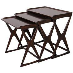 A Set of Italian Modern Nesting Tables, Ico Parisi