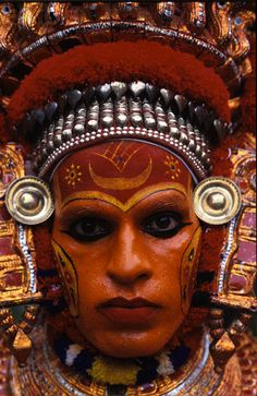 Theyyam Costume i see Theyyam in my last trip gorgeous