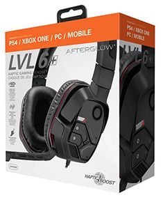 FarCry 5 Gamer  #PDP #Universal #Afterglow #LVL 6+ #Haptic #Gaming #Headset for #Xbox One, #PS4, #PC & #Mobile; 090-072-NA   Price:     Give your #gaming sessions the enhanced audio quality they deserve with the #Afterglow #LVL 6+ #Haptic Stereo #Headset. The #LVL 6+ is a #universal #headset compatible with #PS4, #Xbox One, #PC, and #mobile devices, and includes a #PC splitter and extension cable for multi-platform use. The 40mm high definition stereo drivers deliver rich det