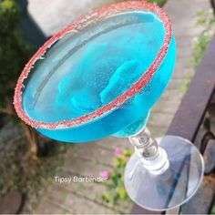 Stay out of the water and have one of our Shark Boy Margaritas! For the recipe, click here! http://www.tipsybartender.com/blog/the-shark-boy-margarita