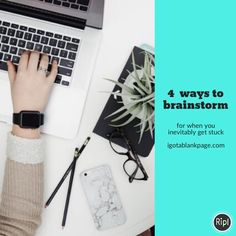 Writing advice Writing tips Brainstorm ideas