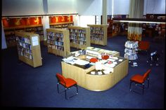 Milton Keynes Central Library in the 1980s