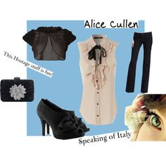 Inspired by Alice Cullen
