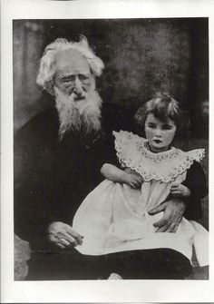 Booth with his granddaughter Muriel