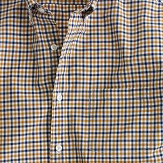 This is the shirt every guy needs in his arsenal. It's exceptionally soft, thanks to our top-secret multistep wash process. (If we told you what it was, it wouldn't be a secret. Sorry.) <ul><li>Classic fit.</li><li>Cotton.</li><li>Button-down collar.</li><li>Machine wash.</li><li>Import.</li></ul>