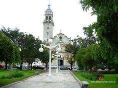 Iglesia Nuestra Sra. del Carmen. Carlos Casares. Prov. de Buenos Aires. Argentina.