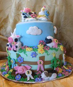 prize winning farm cake