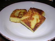 Reenie's Recipes - Pan-Fried Polenta Squares with Rosemary