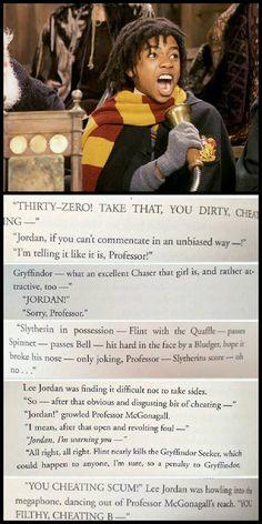 All Things Harry Potter Harry Potter Puns, Harry Potter Feels, Harry Potter Marauders, Harry Potter Pictures, Harry Potter Aesthetic, Harry Potter Universal, Harry Potter Characters, Harry Potter World, Lee Jordan Harry Potter