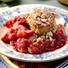 Cranberry-Apple Cobbler with Cinnamon Biscuits Recipe | MyRecipes.com