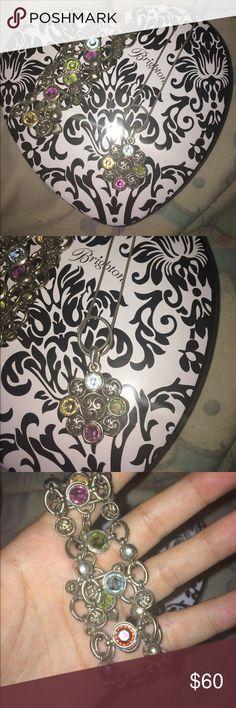 Brighton necklace and bracelet set Matching necklace and bracelet set from Brighton. Brighton Jewelry Necklaces