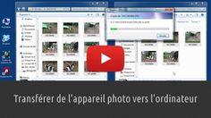 Apprenez à transférer vos photos de l'appareil photo vers l'ordinateur en utilisant, notamment, la technique du copier-coller. Lien : http://www.pausetuto.com/transferer-vos-photos-de-lappareil-photo-vers-lordinateur