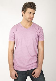 """Pigment dyed vintage V-Neck. 30's 100% Cotton combed ring spun pre-shrunk. Use Promo Code """" JSFRIENDS """" during purchase and get 20% off. www.jsapparel.net All JS Apparel garments made in USA."""