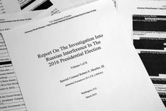 UNITED STATES (VOP TODAY NEWS) -- The US Department of Justice has published a report by Special Prosecutor Robert Mueller on the results of the investigation into the 2016 incriminated Russian interference in the US Us Department Of Justice, Fbi Director James Comey, Messages For Him, 2016 Presidential Election, Nonfiction Books, The Guardian, Investigations, Counseling, Good Books