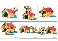 Preposiciones de lugar Oral Motor Activities, Preschool Learning Activities, Baby Learning, Language Activities, English Short Stories, Kids And Parenting, Education, Afrikaans, Yandex Disk