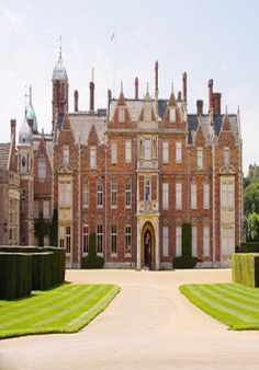 Sandringham Estate in Norfolk owned by the British Royal Family, where The Queen and the senior royals spend each Christmas.