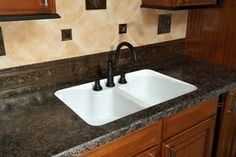 Install Laminate Counter Top Trim   Wilsonart, Formica Laminate Supplies How to Install Undermount Sinks