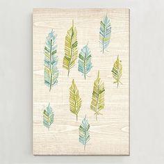 Birch Print - Feather Trees III