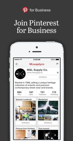Love Pinterest? Try using it to grow your business. You can quickly create a business account to get access to analytics, Promoted Pins, business-tailored support and the latest news and tips.  #ZooSeo