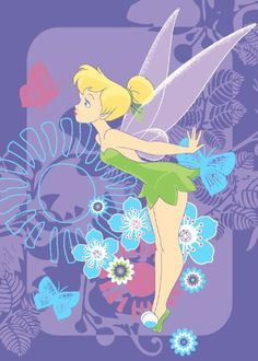 Great Tinkerbell rug for a nice Tinkerbell themed bedroom!