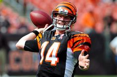 Cincinnati Bengals QB, Andy Dalton our new hero in Cincy!