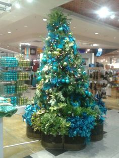 Tiffany Christmas tree :) I've taken pictures on those stairs in ...
