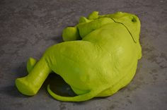 Toxic Elephant 2014 80 x 25 x 60 cm  polyester resin and fiberglass edition of 2