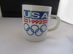 USA 1992 Olympics mug | Sports Mem, Cards & Fan Shop, Fan Apparel & Souvenirs, Olympics | eBay!
