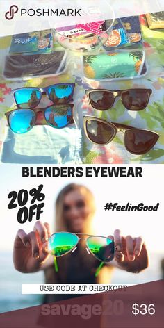 d9b3e75f82c BRAND NEW These are amazing sunglasses! I have these currently in stock  prices range from  16- 36 only on  3 shipping!!! blenders eyewear  Accessories ...
