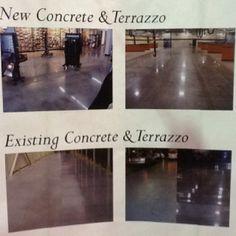 2012 Triad Home & Garden Show - Preferred Concrete Polishing booth