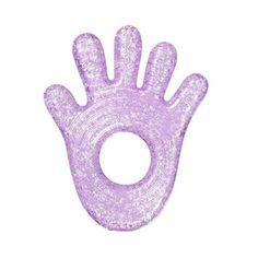 Munchkin Fun Ice Chewy Teether - Purple Hand