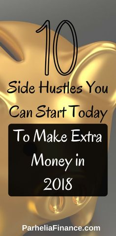 Do you want to earn more money? Check out these side hustle ideas you can do in your free time to make more money. These side jobs can be a great way to increase your income. You can choose one so you can work from home and make money at home! Earn More Money, Ways To Earn Money, Make Money Fast, Make Money Blogging, Make Money From Home, Money Tips, Saving Money, Managing Money, Online Work From Home