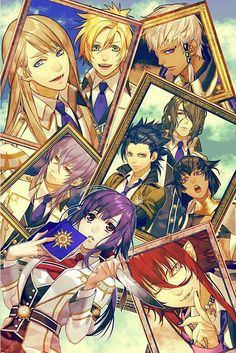 Kamigami no asobi  <3Honestly I ship her with like every single one of them, but I have to say.... I love the yuixloki fanfics a lot... <3