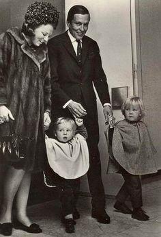 Crown Princess Beatrix The Princess of Orange, Prince Claus, Prince Willem Alexander and Prince Friso