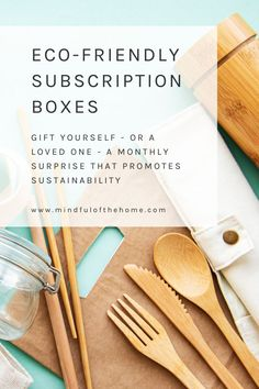 If you're looking to go zero-waste, live plastic-free or all-natural, these eco-friendly subscription boxes will make your transition much easier, and fun! Gift Subscription Boxes, Monthly Subscription, Sustainable Gifts, Sustainable Living, Polymer Clay Kawaii, Healthy Shopping, Make Good Choices, Go Green, Frugal