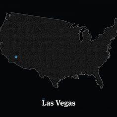 All roads lead to Midnight Vegas #mickallan #maze #interactiveart #mazartlove #usa #vegas #artwork #map http://ift.tt/1SVNMmc