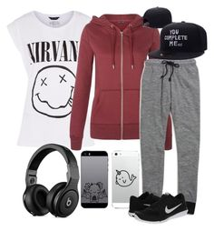 """""""Be cool girl"""" by azurre7 ❤ liked on Polyvore featuring moda, Madewell y NIKE"""