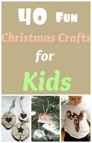 Life With 4 Boys: 40 Chistmas Crafts for Kids