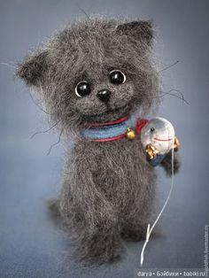 Вязанные игрушки, кошечки Viktoriya GoldFish. Невероятно милые создания. Добрые, уютные и очаровательные. автор