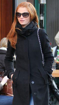 street style- model Cintia Dicker