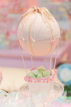 Balão de isopor e MDF para decorar com balinhas... #festabdebruna bailarina…