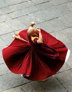 A monk doing a Cham ritual dance in Bhutan.    All the hope you could ever need comes from within. Go deep inside to discover all that you want is always there.~Gigi Galluzzo