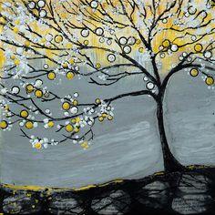 Encaustic - Yellow Spring